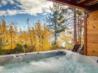 Dog-friendly home w/ private hot tub & lake views - near beaches & slopes!