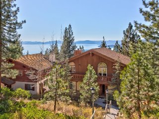 Roomy chalet w/ shared pool & hot tub - views, near lake & slopes, dogs ok!