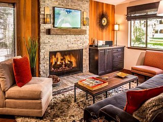 Newly updated retro-chic condo - walk to the lake, under 2 miles from the slopes