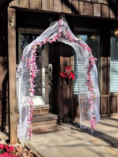 Arch for the December Bride!!