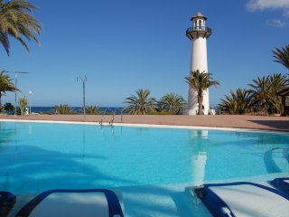 Nice apartment with sea view in Playa del Aguila Playa