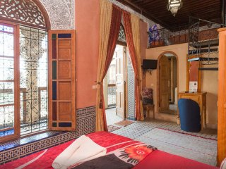 Junior Suite at Riad Layalina: Pool, 360° View & Free Secure Parking at Foot