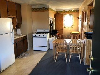 Cozy, dog-friendly lodge w/ kitchen, entertainment, ski access & shared hot tub!