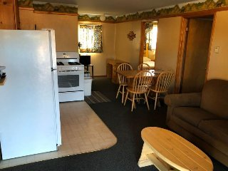 Comfy, dog-friendly cabin - walk to dining & shopping - outdoor fun all year!