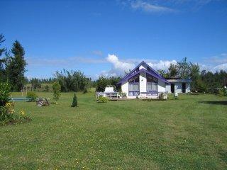 Casa en parcela huichahue