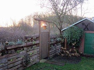 Idyllisches Ferienhaus Schlei Ostsee Region mit Garten und Sauna