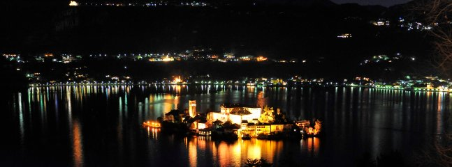 The magic of the island at night, immersed in its peaceful, ancient heritage.