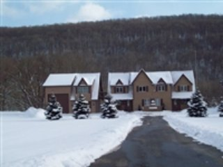 View of Townhome from the road