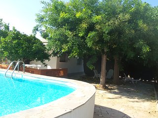 V. MONSE - CHALET CON PISCINA 4-5 PERS. 350 M. PLAYA