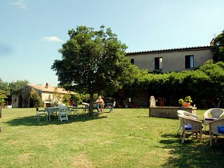 Villa toscana, area etrusca Sovana