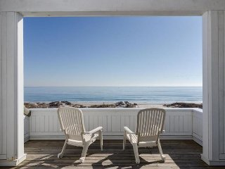Comfortable 4 bedroom, 4 and 1/2 bath oceanfront home among the dunes