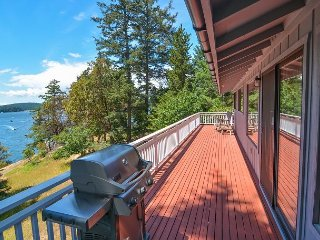 Roche Harbor Heights Waterfront at Roche Harbor! Walk to Marina, Tennis, Dining!