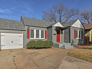 NEW! Central 2BR Oklahoma City Home w/ Backyard!