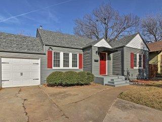 NEW! Central 2BR Oklahoma City Home w/ Backyard!