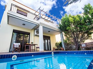 Private pool, Great views, Near tavern & Mini market, 3 Bedrooms, Near Rethymno