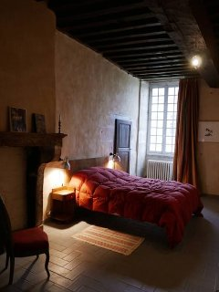 La chambre 'à la cheminée'