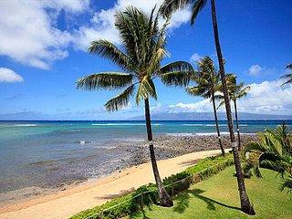 Kahana Village #22 Ocean Front Prime Luxury