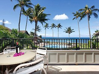 Kahana Village #14 Ocean Front Luxury