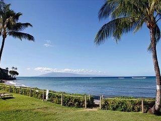 Kahana Village #19 Ocean Front Prime Luxury