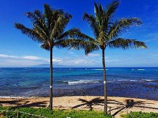 Kahana Village #28 Ocean Front Prime Luxury