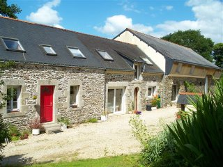 Attractive Semi-Detached Farmhouse With Pool In Central Brittany