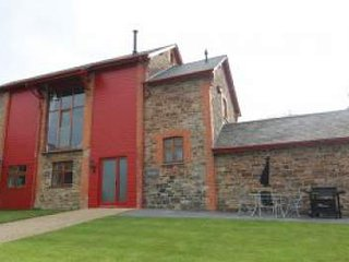 The Barn, newly converted with vaulted ceiling,  views, super fast broadband.