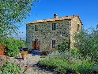3 bedroom Villa in Montalcino, Tuscany, Italy : ref 5240725
