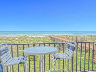 2nd Floor Oceanfront 1 BR Condo w/Private Balcony