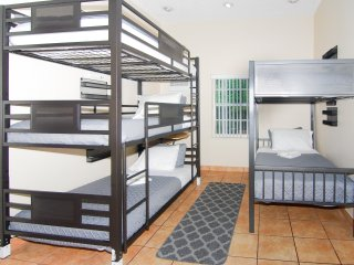 One Twin bed in 9 Beds - ^206 Mixed Dormitory room