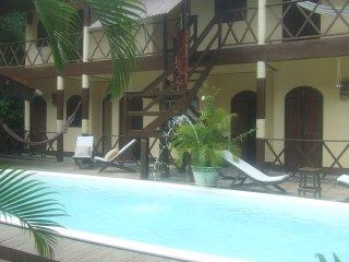 Grande casa de praia com piscina para grupo em Morro de São Paulo, Bahia