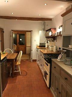 Fully equipped kitchen, including dishwasher, fridge, freezer, Nespresso machine