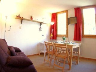 Rental Apartment Valmorel, studio flat, 5 persons