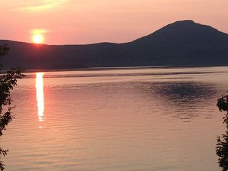 Zenith sur le lac Memphremagog