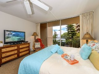 Epic Royal Kahana 205 - Re-furnished OCEANFRONT Studio