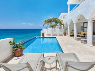 Villa Etoile De Mer  ^ Beach Front | Located in  Tropical Cupecoy with Private P