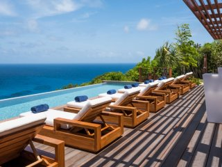 Villa La Danse Du Soleil  # Ocean View - Located in  Tropical Deve with Private