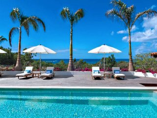 Villa La Hacienda  # Ocean View ^ Located in  Exquisite Terres Basses with Priva