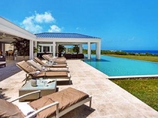 Villa Ambiance  # Ocean View - Located in  Exquisite Terres Basses with Private