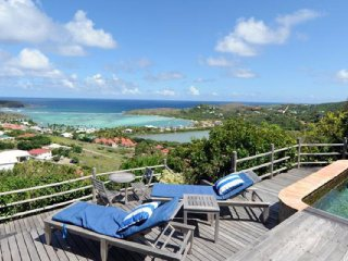 Villa Kyody  # Ocean View # Located in  Beautiful Marigot with Private Pool