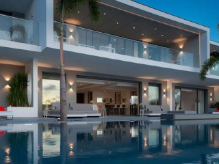 Villa Axel Rocks - Chef Included Ocean Front, Private Pool