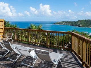 Villa Idalia  * Ocean View | Located in  Fabulous Saint Jean with House Cleaning
