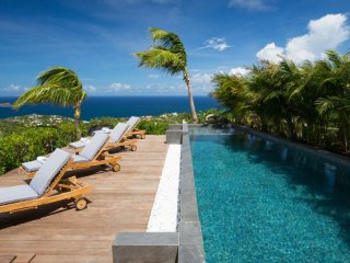 Villa Clementine  * Ocean View ^ Located in  Tropical Vitet with Private Pool