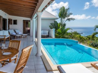 Villa Sunrock  ^ Ocean View * Located in  Stunning Colombier with Private Pool