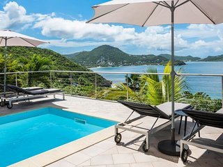 Villa Heloa  * Ocean View :: Located in  Tropical Pointe Milou with Private Pool