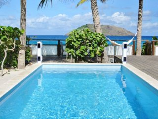 Villa Les Raisiniers | Beach Front # Located in  Tropical Flamands with Private