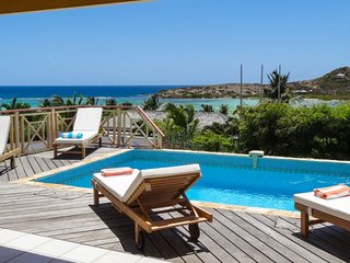 Villa Le Motu  - Ocean View | Located in  Fabulous Grand Cul de Sac with Private