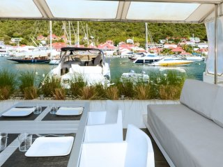 Villa Harbour Loft  - Waterfront ^ Located in  Fabulous Gustavia with House Clea