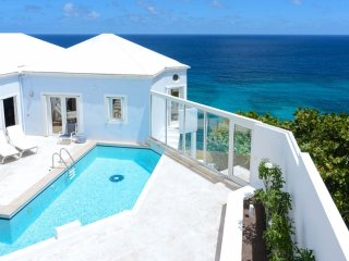 Villa Au Vent  ^ Ocean Front # Located in  Beautiful Pointe Milou with Private P