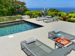 Villa Belle Bague ^ Ocean View | Located in  Exquisite Colombier with Private Po