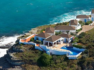 Villa Cap Au Vent  (At The Edge Of The Cliff Overhanging The Ocean. )